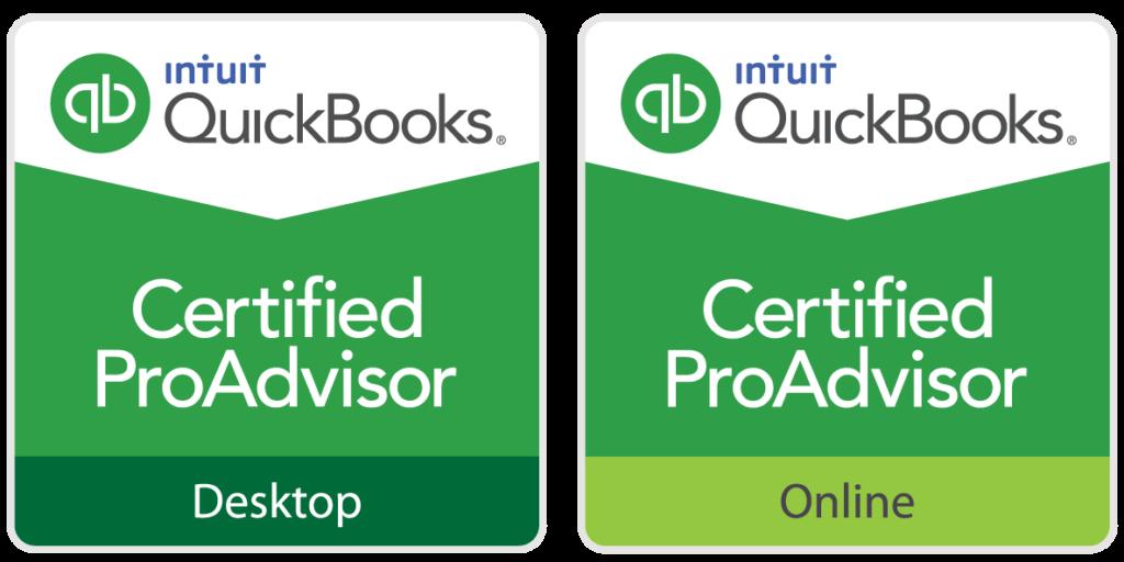 Quickbooks Desktop & Online Certified ProAdvisor